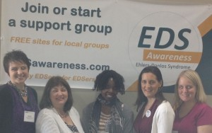 EDS awareness booth Clevelanders CROP