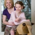Merrily with mum  Rachel