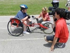 Michael wheel chair