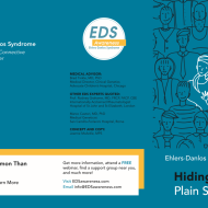 "New Awareness Materials for EDS — ""Hiding in Plain Sight"" Brochure. NOW you can print through Vistaprint!"