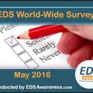 "Free Webinar – ""Results of the EDS Awareness World-Wide Survey"" – RECORDING AVAILABLE"